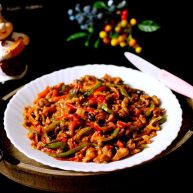 糖醋菜+鱼香肉丝