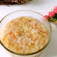 银鱼蔬菜小米粥