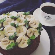 原創 | 無油無面粉咖啡香蕉濕蛋糕