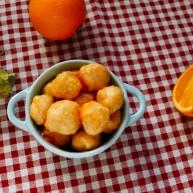 糖醋菜+橙汁鸡球