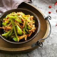 #懒人料理#家常菜尖椒肉丝