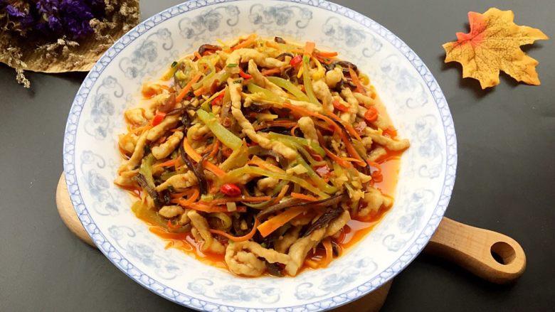 糖醋菜+家常鱼香肉丝