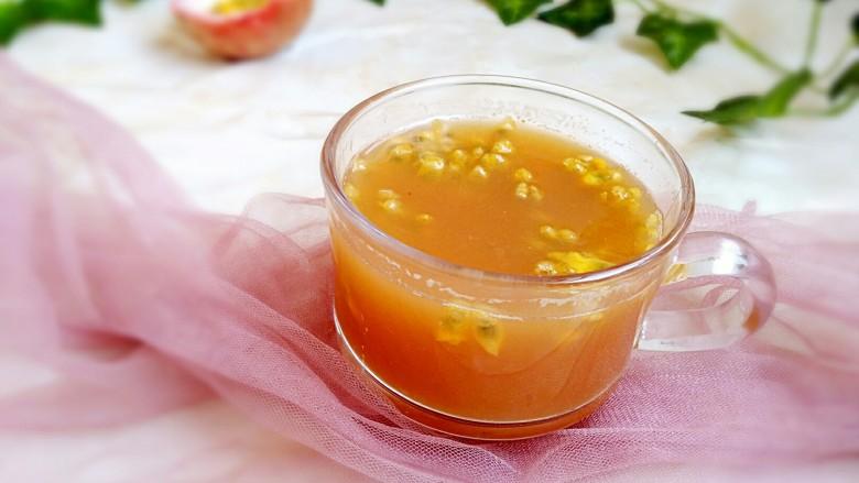 百香果苹果汁(排毒养颜)