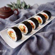 牛油果肉松寿司