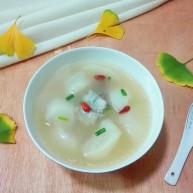 天太冷了~喝碗花椒萝卜骨头汤