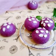 最爱面包+紫薯小面包