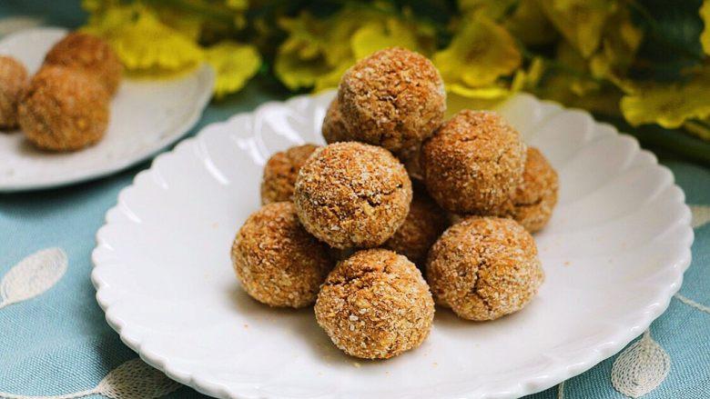 红茶燕麦椰丝球