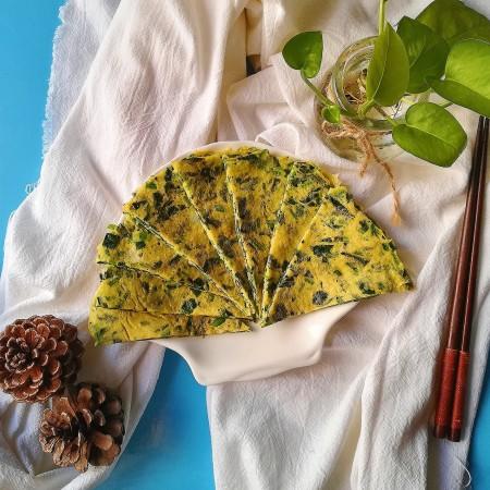 #补铁#菠菜煎饼