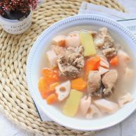 莲藕排骨汤