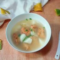 天冷继续喝汤~白胡椒山药肉圆汤