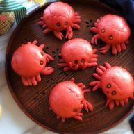 #最爱包子#小螃蟹豆沙包