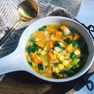 #感恩节食谱#南瓜减脂蔬菜汤