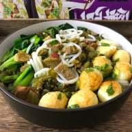 一碗面條+酸菜牛肉粉