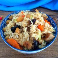 #感恩节食谱#香菇干贝焖油饭