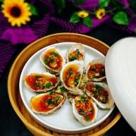 #感恩节食谱#+蒜蓉牡蛎