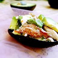 #感恩节食谱#牛油果烤鸡肉-酸奶酪沙拉