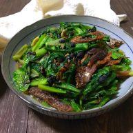 豆豉鲮鱼烧油麦菜