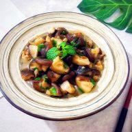 家常葱油极鲜香菇