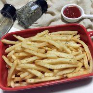 海盐椰子油烤薯条
