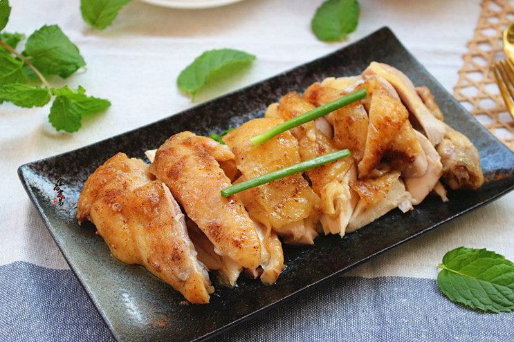 珐琅锅盐焗鸡