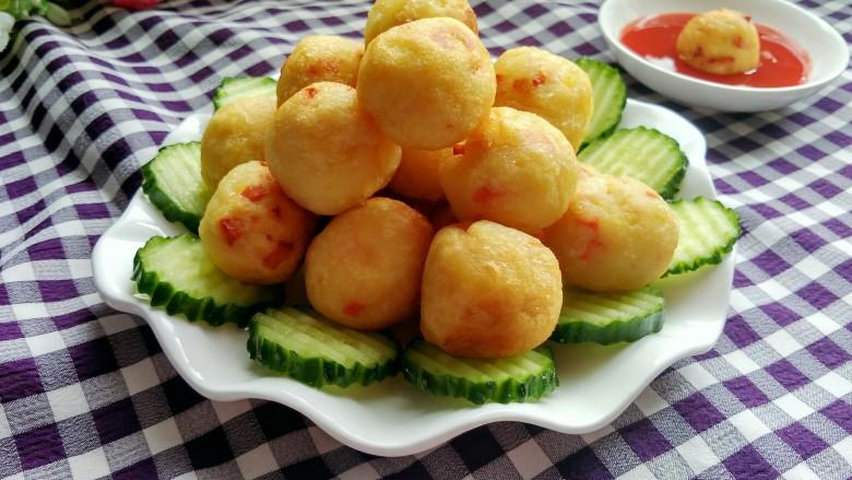 圆土豆  土豆丸子