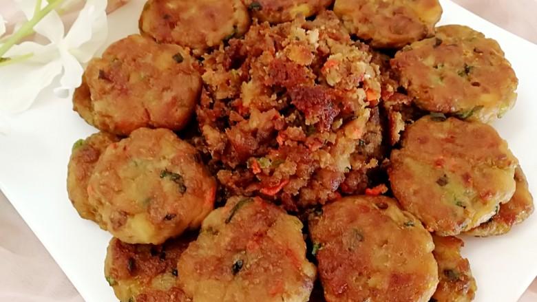 圆土豆+香酥土豆饼土豆渣
