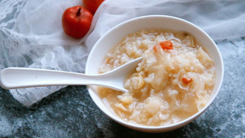 银耳百合大米小米粥