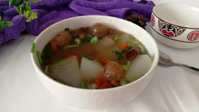 冬瓜桂圆大枣排骨汤