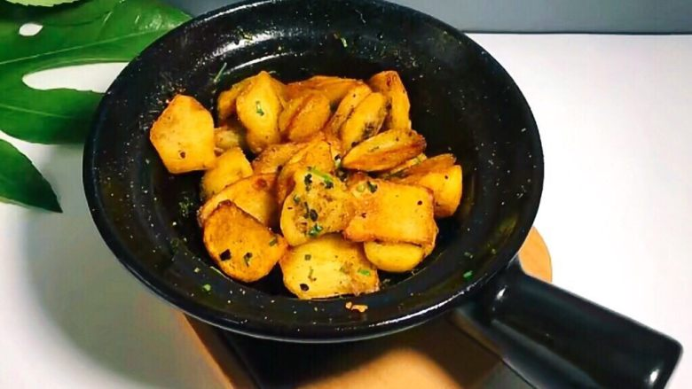 圆土豆+香煎土豆