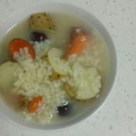 山药、胡萝卜大米粥