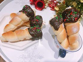 平安圣诞许愿海螺奶油面包