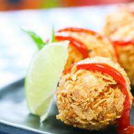 黃金魚子蝦球