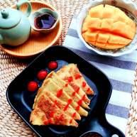 """健康<span style=""""color:red"""">瘦身</span>早餐 土豆鸡蛋饼"""
