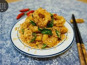 东南亚特色--麦片鱿鱼