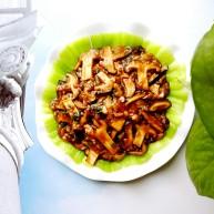 简单又好吃的家常菜,即使是新手也能轻松做好的香菇油菜