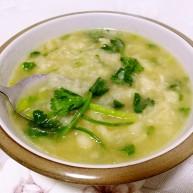麻油葱滋小面汤
