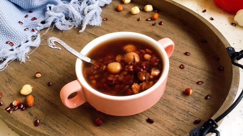 暖心暖胃 赤小豆莲子粥