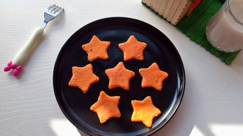 百变鸡蛋+星星番茄鸡蛋饼