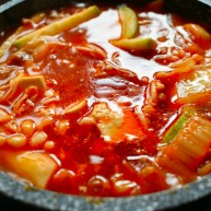 泡菜豆腐汤