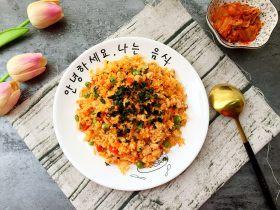 炒饭秀+辣白菜炒饭