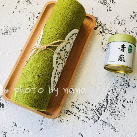 抹茶蜜豆卷