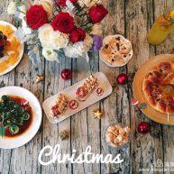 圣诞主题甜品台