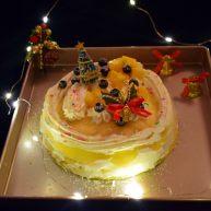 圣诞可丽饼蛋糕