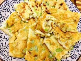文蛤丝瓜饼