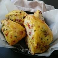 椰子油葱香培根司康(全酵母版本)