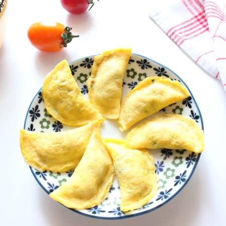宝宝蔬菜肉蛋饺(适合12个月以上的宝宝)