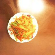 胡萝卜黄瓜丝