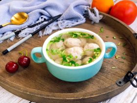 厨房挑战➕荤菜➕鲜鱿鱼丸