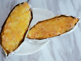 奶香芝士焗红薯(地瓜)