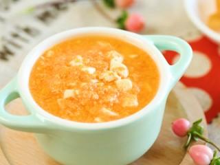 8m+豆腐蛋黄糊(宝宝辅食)